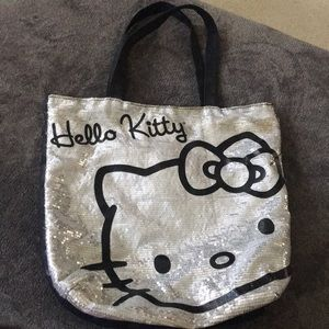 Hello Kitty Sequin Tote Bag
